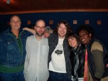 RAPTURE: Cast Photo: Independent Film 2010 (Vince Gabriel, Director Jason Dean, SAS, Nicole Marie Fuller, Shatema Brooks)