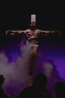 JESUS CHRIST SUPERSTAR: (Photo by Katie Machaiek) SCOTT ANTHONY SMITH - JESUS, OCEANSIDE COMMUNITY THEATRE (2015)