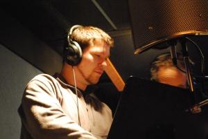 In studio -