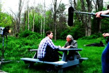 A ROMANTIC KNIGHT: Cam (On location): Maine Media Workshops 2012 (SAS, Jim James)