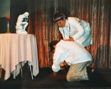 A WORK OF ART: SAS - DOCTOR KOSHELKOV, JOSH ROSE - DIMITRI, MARSH RIVER THEATER CAMP (1998)