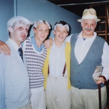 THE EXPLORATORS CLUB: EVAN PORCHETTA, ADAM HALL, SAS, STEPHEN MITCHELL, MARSH RIVER THEATER CAMP (2001)