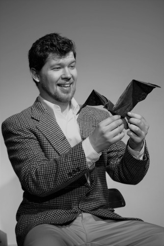 ANIMALS OUT OF PAPER: (Photo by Kate Hodgson) SCOTT ANTHONY SMITH - Andy, EVERYMAN REPERTORY THEATRE (2017)