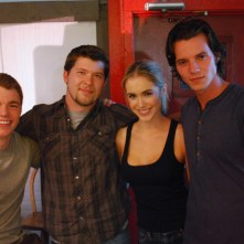 ANATOMY OF THE TIDE: Bar Patron (On set): Two Tides Entertainment 2011 (Gabriel Basso, SAS, Spencer Locke, Nathan Keyes)
