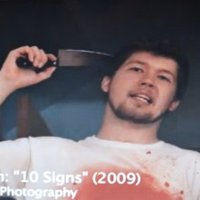 10 SIGNS YOUR ROOMMATE IS A SERIAL KILLER: Stan (On Set) Maine Media 2009