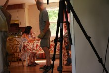 PLAYBACK: Adam (On set): Maine Media Workshops 2012 (Sally Levi, Kevin Carragher, SAS)