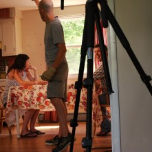 PLAYBACK: Adam (On set): Maine Media Workshops 2012 (Sally Levi, Kevin Carragher, SAS)