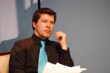 27 DOWN: Sebastian Carter (On set): Maine Media College 2011