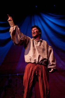 KING LEAR: (Photo by Jim Dugan) SCOTT ANTHONY SMITH - EDGAR, CAMDEN CIVIC THEATER (2009)
