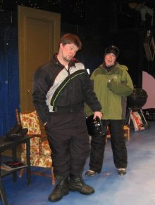 ALMOST, MAINE: SCOTT ANTHONY SMITH - DAVE, KELLY MARDEN - RHONDA, BELFAST MASKERS (2008)