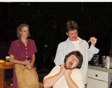 TRUE WEST: KATHLEEN HORAN - MOM, SCOTT ANTHONY SMITH - LEE, JAMES CLAYTON - AUSTIN, BELFAST MASKERS (2008)