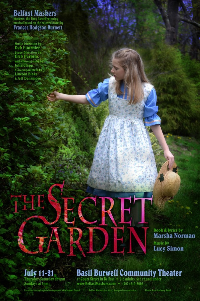 The Secret Garden Belfast Maskers 2019